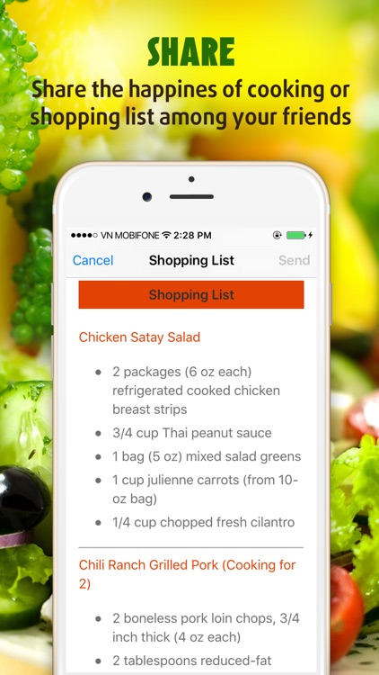 Salad Recipes ~ The Best Easy & Healthy Salad Recipes screenshot-4