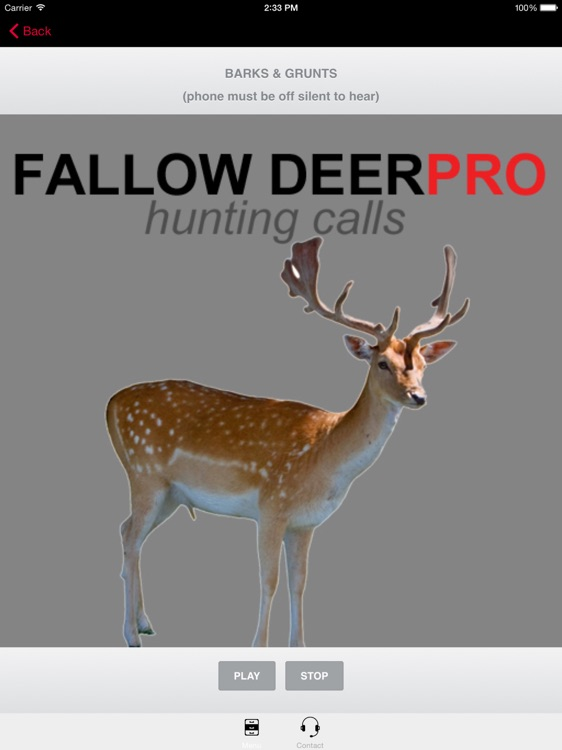 REAL Fallow Deer Calls - Deer Grunt & Deer Bark + BLUETOOTH COMPATIBLE