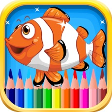Activities of Fish Coloring Book for Children