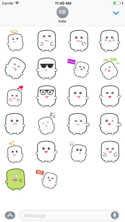 Mr Poof - The Sticker Pack