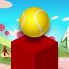多维数据集跳球游戏 - 高在天空中达到发挥这无尽的块堆叠免费