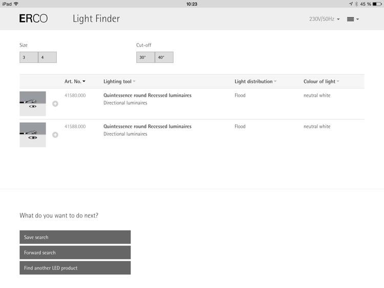 ERCO Light Finder screenshot-4
