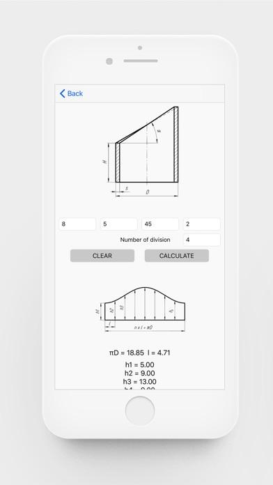 Flat Pattern Bend Calculator screenshot 4