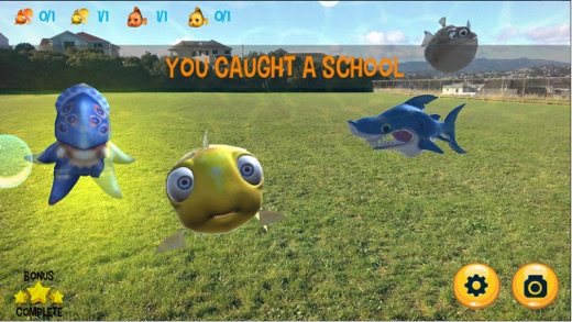 Sharks in the Park Screenshot
