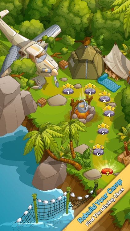 Crystal Island: Match 3 Puzzle screenshot-4