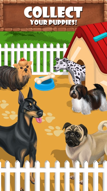 Puppy Care - puppies feed, breed, battle pet games