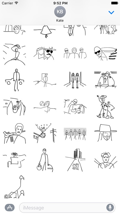 Stick Figure Movie - Stickers screenshot-2
