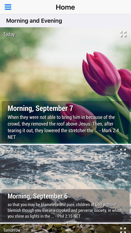 Morning and Evening With God - Daily Devotional screenshot-4