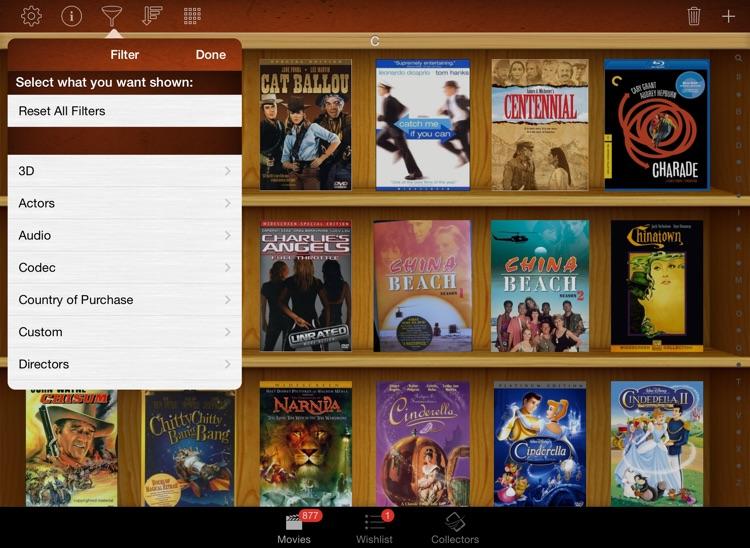 Movie Database - Blu-ray DVD My Movies 4K Library screenshot-3
