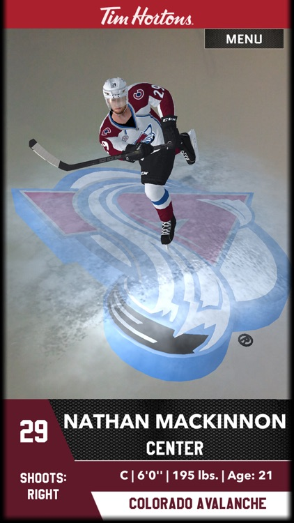 Tim Hortons AR Hockey Cards screenshot-3