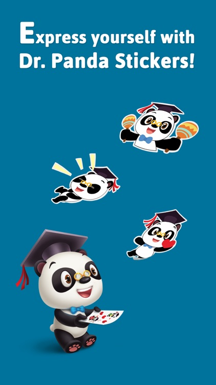 Dr. Panda Sticker Pack