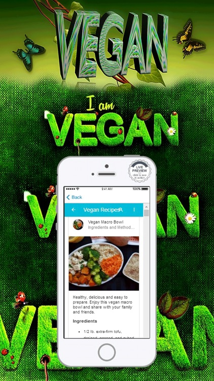 Vegan Diet Food List Recipes