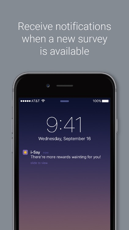 i-Say Rewards your Opinion screenshot-3