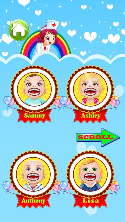 Baby Doctor Dentist Salon Games for Kids Free screenshot-3