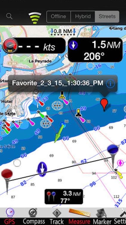 Gulf of Lion Nautical Charts screenshot-3