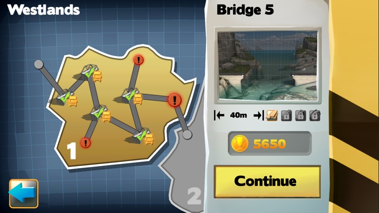 Bridge Constructor FREE screenshot-2