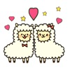 Couple Alpaca in Love Sticker Ranking