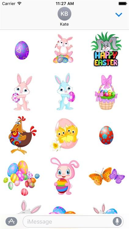 Happy Easter Stickers screenshot-4