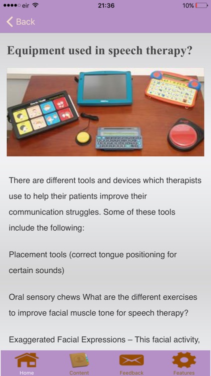 Speech Therapy Exercises screenshot-4