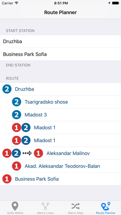 Sofia Metro screenshot-1