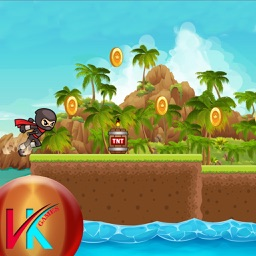 Running Ninja Adventure Collect The Coins