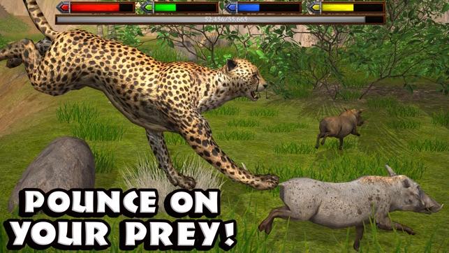 ultimate savanna simulator をapp storeで