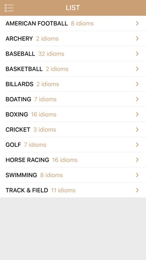 English Sports Idioms on the App Store