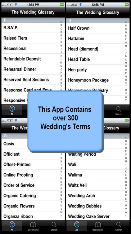 The Wedding Glossary screenshot-3