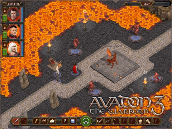 Screenshot #1 for Avadon 3: The Warborn HD