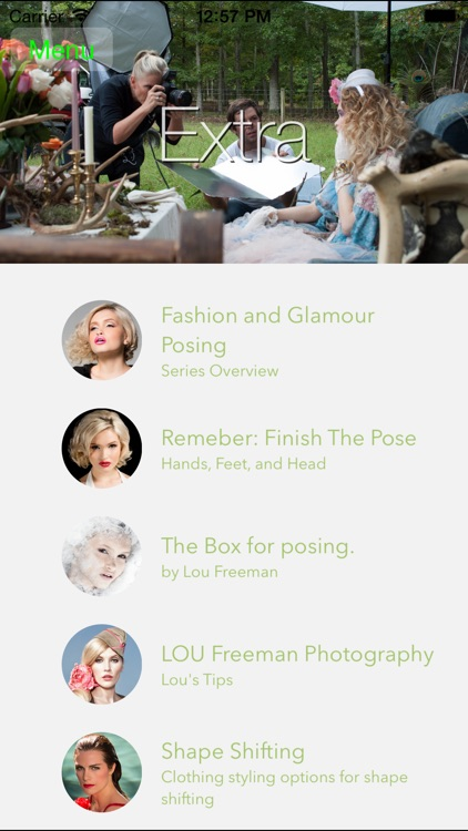 LOU Freeman - Fashion & Glamour Posing - Reclining screenshot-3
