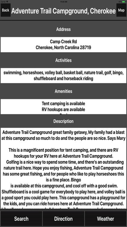 North Carolina Camping Spots screenshot-1