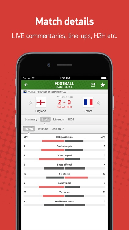 FlashScores.co.uk screenshot-2