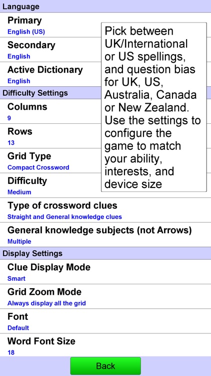 Compact Crossword screenshot-3