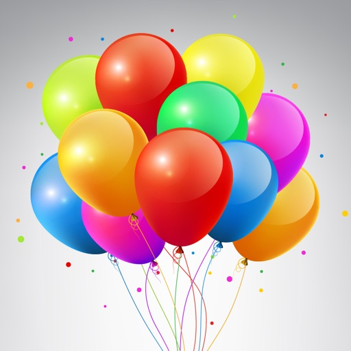 Animated Balloon Birthday Pack