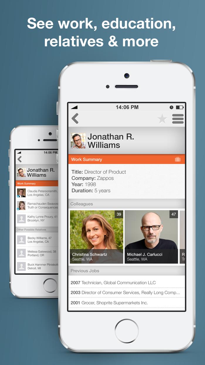 Intelius Reverse Phone Lookup Screenshot