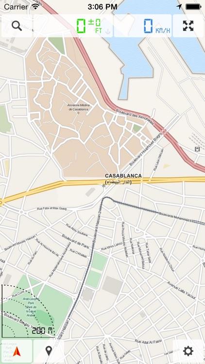 Morocco - Offline Map & GPS Navigator