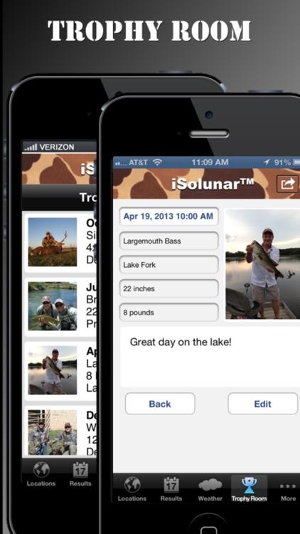 iSolunar™ Hunting & Fishing Times app image
