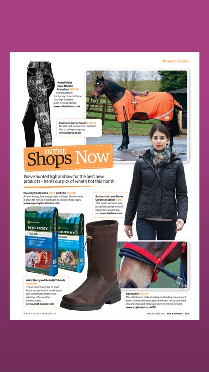Your Horse Magazine: passionate about horses screenshot-3