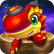 斗龙战士之星印罗盘-3D竖版跑酷类单机游戏