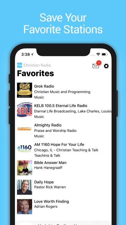 Christian Music and Talk Radio screenshot-3