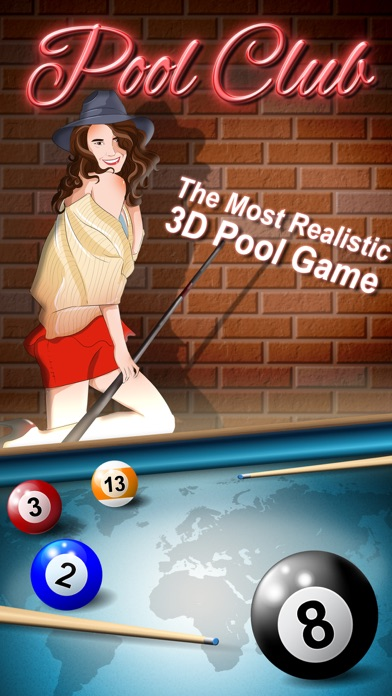 Pool Club 3D - 8 Ball, 9 Ball, 3 Cushion Billiardsのスクリーンショット1