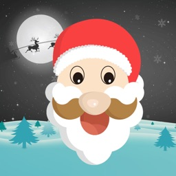 Christmas Santa Sticker - Holiday Gif for iMessage