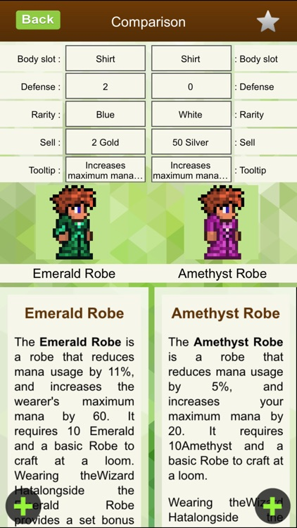 Item Mastery for Terraria - Compare & Choose