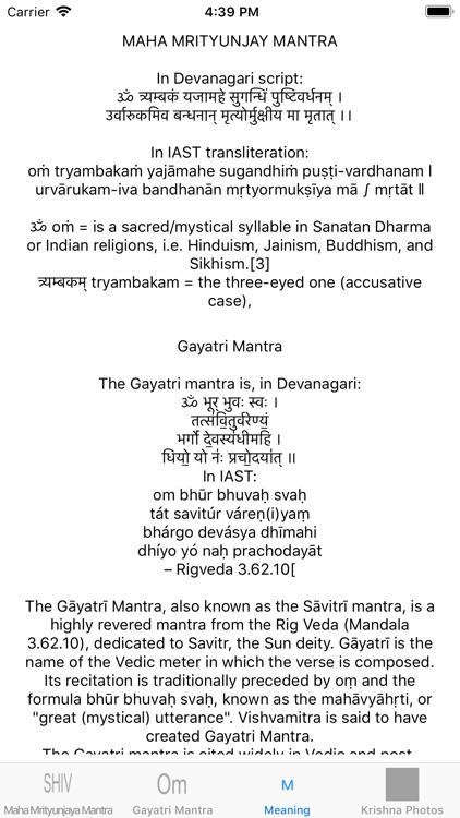 Maha Mrityunjaya Mantra: Audio screenshot-3