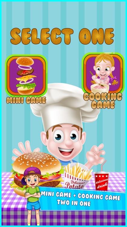 Sky Burger Maker Cooking fever - Kids Games