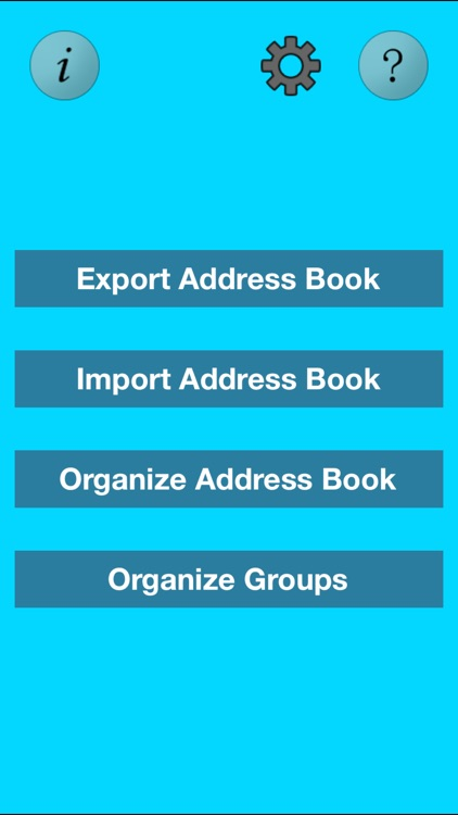 Super Address Book Organizer