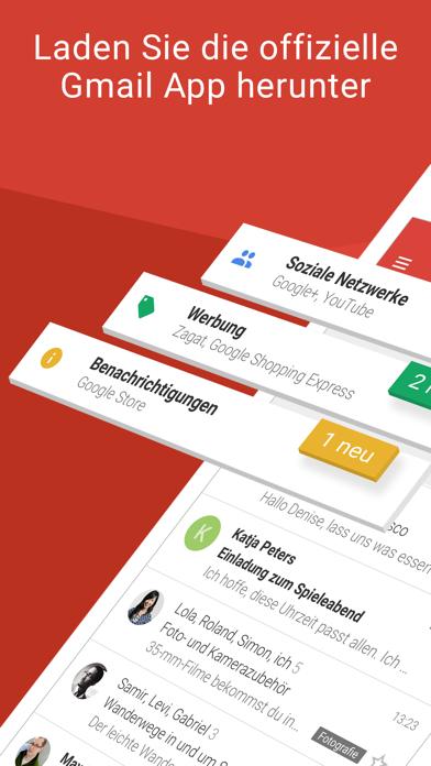 Screenshot for Gmail – E-Mail von Google in Austria App Store