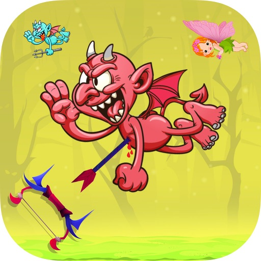 Devil Shooting - kill six! shooting games for Free