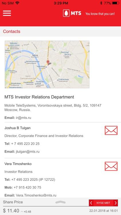 MTS Investor Relations screenshot-3