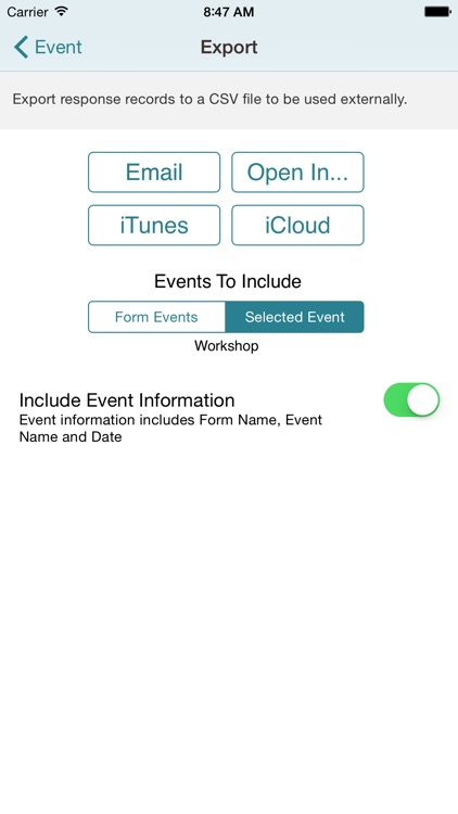 Simple Form for iPhone screenshot-4